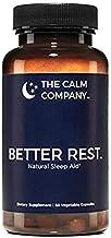Better Rest - Natural Sleep Aid for Adults - Safe, Effective, Non-Habit Forming Herbal Sleeping Pills for Insomnia - Valerian, Melatonin, Chamomile, Tryptophan & More | Sleep Supplement 60 Vegan Caps