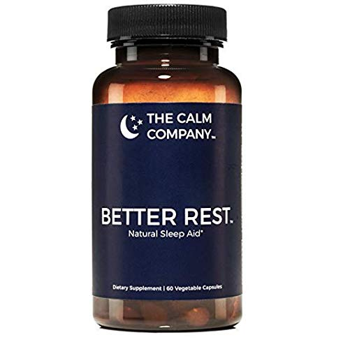 Better Rest - Natural Sleep Aid for Adults - Safe, Effective, Non-Habit Forming Herbal Sleeping Pills for Insomnia - Valerian, Melatonin, Chamomile, Tryptophan & More | Sleep Supplement 60 Vegan Caps