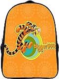 Mochila escolar Winnie Pooh Winnie Pooh para niños y niñas, clase 1.-6, ergonómica, alta capacidad, impermeable, mochila escolar (Winnie-6,17 pulgadas)