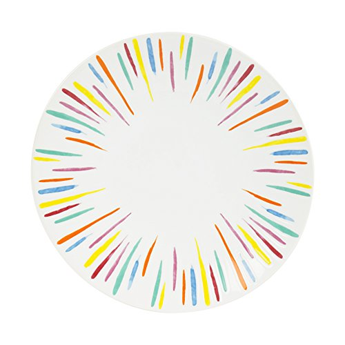 Table Passion - assiette à dessert sunshine 21 cm (lot de 6)