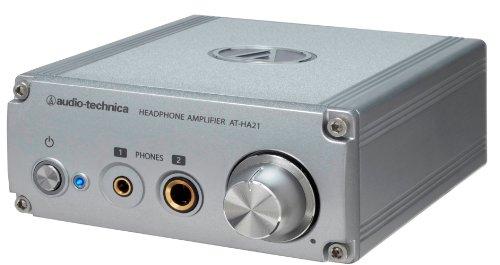 audio-technica ヘッドホンアンプ (φ6.3ステレオ標準/φ3.5ステレオミニジャック両対応) AT-HA21