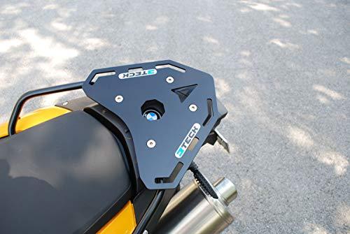 MyTech - Zwarte aluminium dakplaat voor - F 800 GS - F 700 GS - F 650 GS