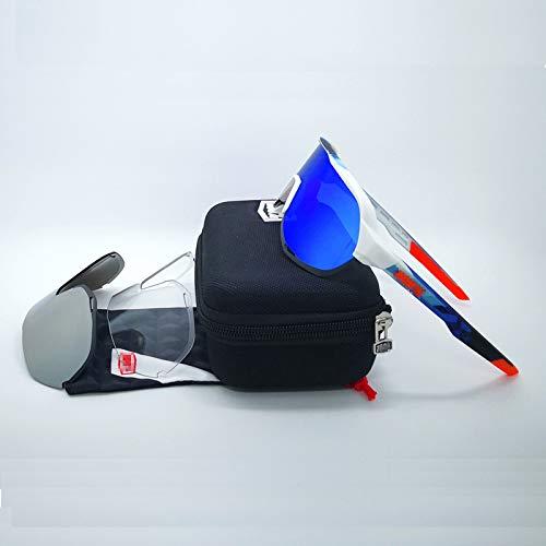 ZYQDRZ Champion Commemorative Polarized Cycling Glass, TR90 Totalmente Recubierto, Conducción De Múltiples Protección, Gafas Deportivas Unisex Al Aire Libre,#1