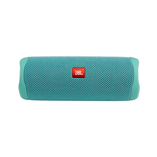 JBL FLIP 5 Waterproof Portable Bluetooth Speaker - Teal, Black, 2.3