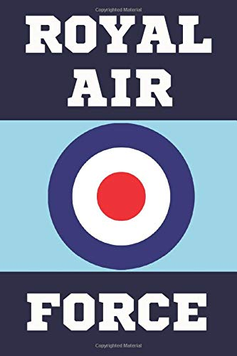 ROYAL AIR FORCE: Royal Air Force Gifts. This Notebook/Notepad is a great gift for yourself or anyone who has ever served in the Royal Air Force. RAF Gifts.