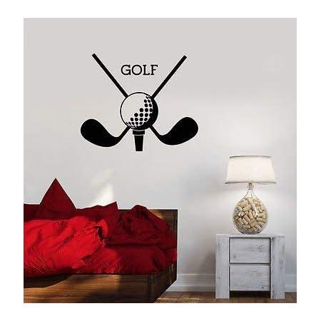 Permite que Golf citar Decalque Adesivo De Parede transferência engraçado Hobby Golfe Esporte Vinil Uk