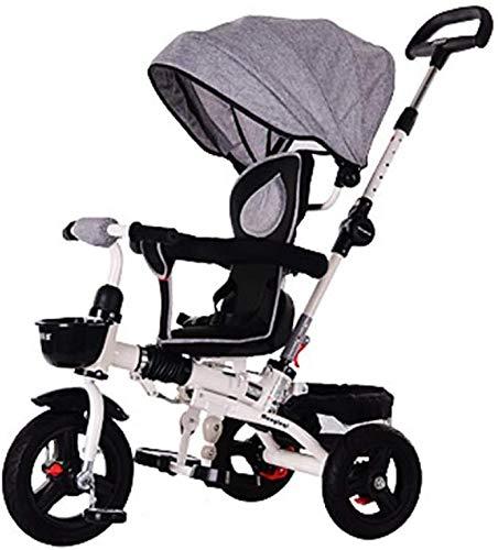 Kinder dreirädrigen Roller, leichte Klapp-Stoßdämpfer, Rotary Kinderwagen, Autokinder, 1-5 Jahre alt, Pedal Fahrrad XIUYU