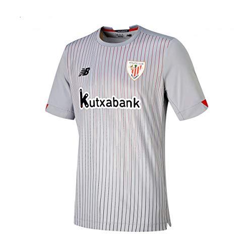 New Balance AC Bilbao Segunda Equipación 2020-2021 Niño, Camiseta, Grey, Talla M