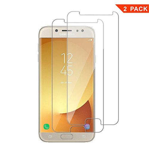 [2 Pack] Pellicola Vetro Temperato Samsung Galaxy J5 2017, ViViSun 9H 2.5D Anti-impronte Anti-graffio Ultra-Clear Protezioni Schermo in Pellicola Protettiva...