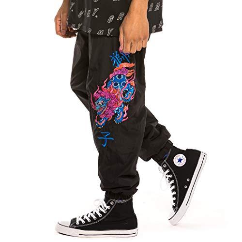 GRIMEY Pantalón Urmah Dojo Track Pants SS20 Black-3XL