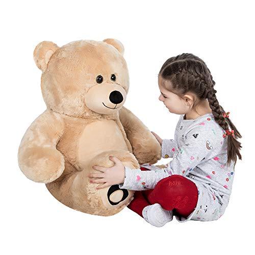 YXCSELL Giant Teddy Bear Huge Stuffed Animal Toy Girl Kids Girlfriend Best Birthday Gift As Big Be Soft Pillow