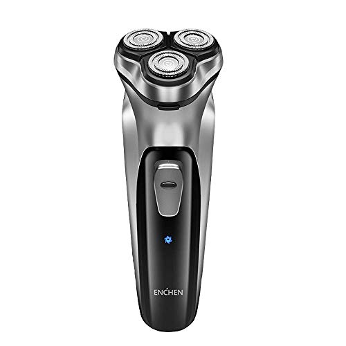 Electric Razor for Men, Type-C USB Quick Rechargeable Electric Shavers for Men, Fast-Charging Cordless Face Shaver with Pop Up Beard Trimmer