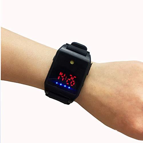 DAGCOT Alarma de Ataque Personal, Modo de Carga portátil Alarma de Pulsera SOS Emergencia Auto-Defensa Reloj para niños Ancianos Caminantes nocturnos Estudiantes