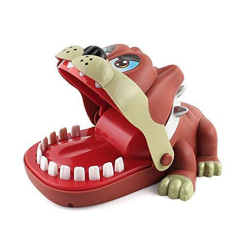 Sipobuy Shar Pei Hund Zahnarzt Biss Finger Spielzeug lustige heikle Spielzeug Tabletop Spiel lustige interaktive Kinder Familie Spielzeug Parteibevorzugung Geburtstag