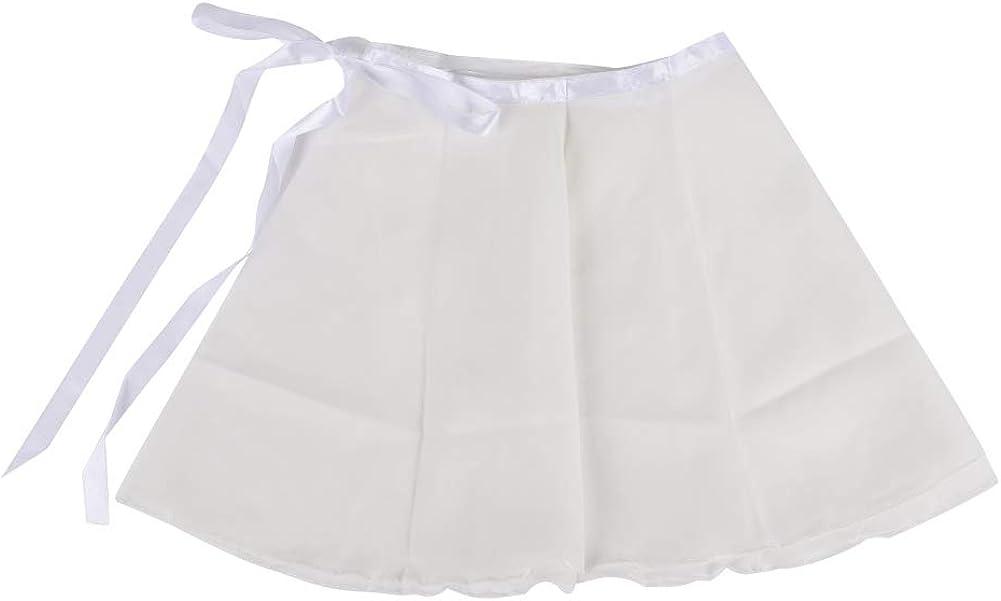 Baywell Kids Ballet Skirt Girls Comfortable Dance Costume Mini Petticoat Latin Tutu Skirt Dance Clothes White