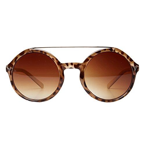 Accessoryo - Gafas de sol - Animal Print - para mujer Beige beige talla única