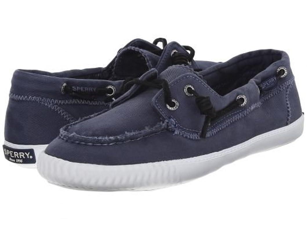 スポンジ肘取得するSperry(スペリー) レディース 女性用 シューズ 靴 ボートシューズ Sayel Away Washed - Navy 5.5 M (B) [並行輸入品]