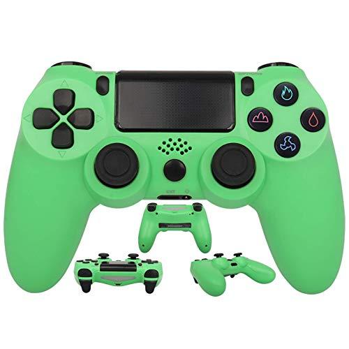 YLJXXY Mando para PS4 Inalambricos, Mando para PS4 Gamepad de Doble Vibración con Touch Pad y Conector de Audio para Playstation 4 / PS4 / PC