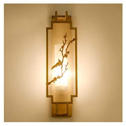 HENGXIAO-wall lamp Salon Style Chinois Lampe Murale Lampe Mur- Chambre À Coucher D'époque Lit De Tête De Restaurant dans Le Corridor De Lumière [Classe Énergétique A +]