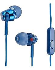 ソニー イヤホン MDR-EX155AP : カナル型 リモコン・マイク付き ブルー MDR-EX155AP LI
