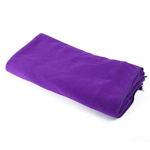 LWHOL Toallas de baño Baño Toallas de baño Fashion Lady Lady Wearable Secado rápido Mágico Towel Beach SPA Bathrobes Soft Suave (Color : Plum)