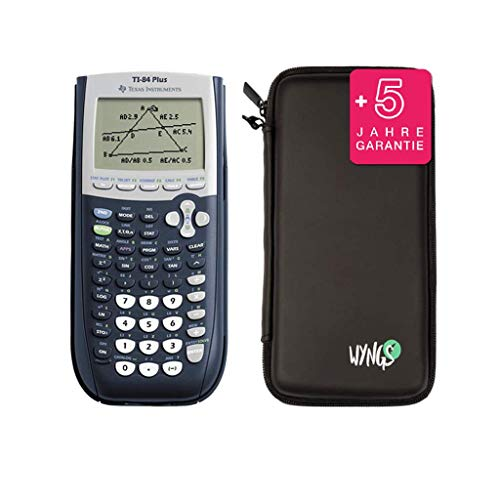 TI-84 Plus + Erweiterte Garantie + Schutztasche