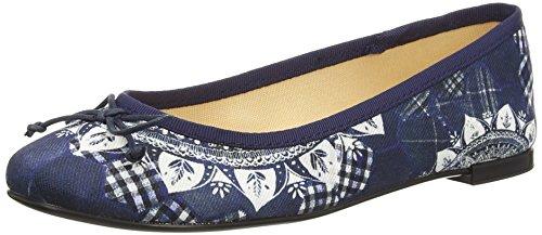 Desigual Damen Shoes_MISSIA 2 Geschlossene Ballerinas, Blau (5006 Jeans), 40