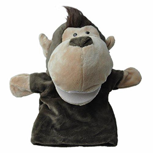 SODIAL Marionetas Mano Animales Terciopelo