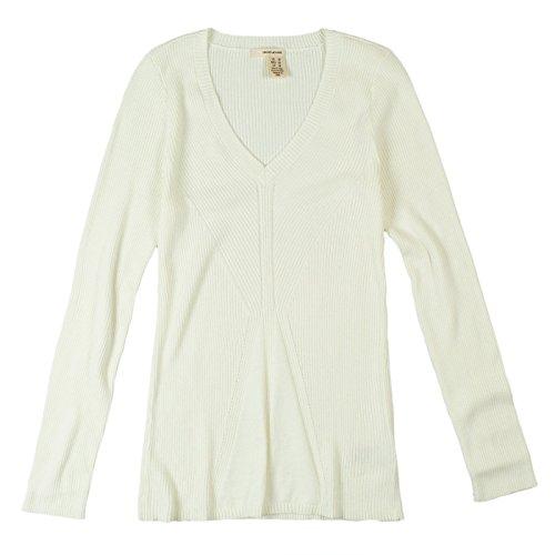 DKNY Jeans Womens Long Sleeve Sweater S Cream