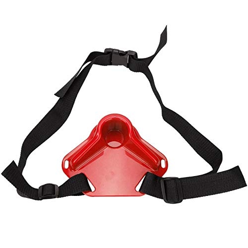 KUIDAMOS Mini cinturón Superior de Pesca Resistente al Desgaste de diseño ergonómico, para Pesca en Barco(Red)