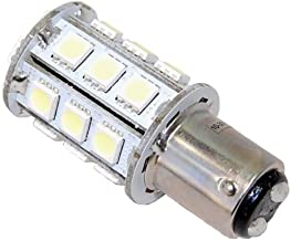 HQRP Ba15d Bayonet Base 24LEDs Dual Contact SMD LED Marine Boat Bulb for 1076 1130 1176 1142 Replacement Warm White 12-24V...