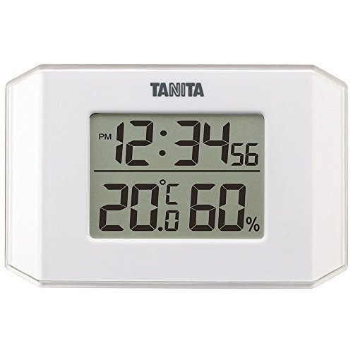 タニタ(TANITA) 温度計・湿度計 ホワイト デジタル デジタル温湿度計 TT-574-WH