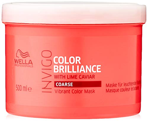 Wella Invigo Color Brilliance, Mascarilla para el pelo - 500 ml.