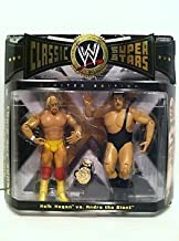 WWE Jakks Pacific Wrestling Classic Superstars Exclusive Action Figure 2Pack Andre The Giant Vs. Hulk Hogan