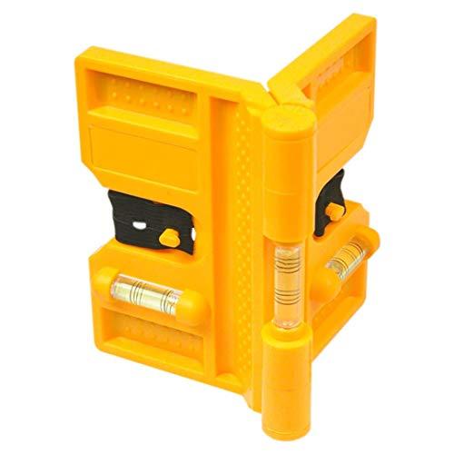 TOPEX Wasserwaage für Pfeiler, beweglich, 3 Libellen, 4 Magnete