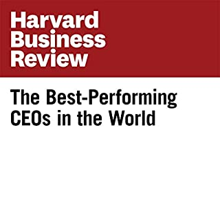 Couverture de The Best-Performing CEOs in the World (Harvard Business Review)