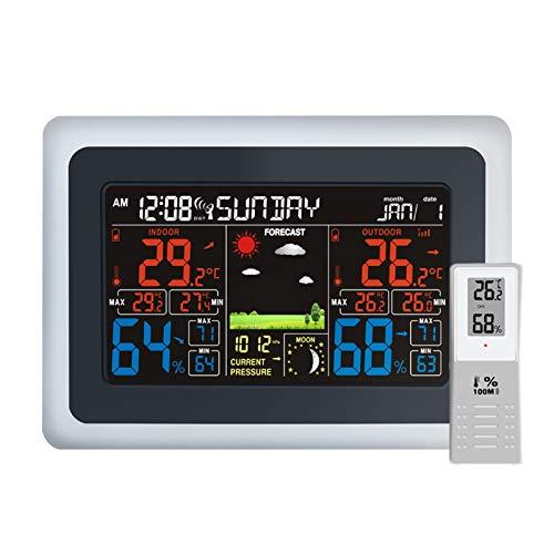 estación meteorológica con sensor inalámbrico de la marca CSY