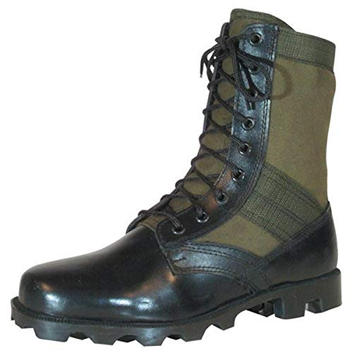 Fox Outdoor Products Vietnam Jungle Boot, Olive Drab, Size 10