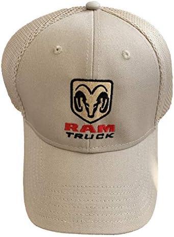 Dodge Ram Truck Hat Mesh Back Embroidered Cap
