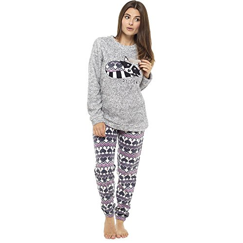 Pijama de pijamas cómodos pijamas Snuggle pijamas cálidos