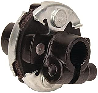 Steering Rag Joint Adapter, 3/4-30 Spline to 3/4 DD Double D Shaft