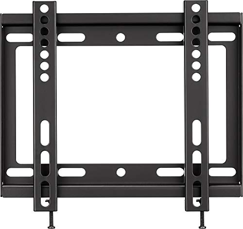 """Insignia - Fixed TV Wall Mount for Most 19"""" - 39"""" TVs - Black"""