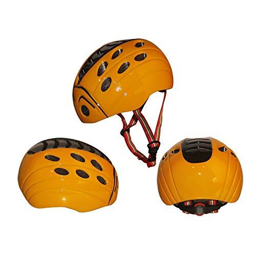 Casco de ciclismo para niños y niñas, casco integrado para niños y...