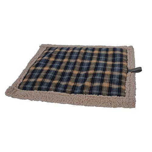 Xploit Manta térmica para mascotas, almohadilla calefactora eléctrica para mascotas para perros y gatos, colchón para gatos caliente e impermeable para perros, apagado automático