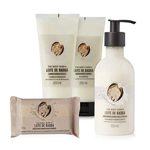 Kit The Body Shop Banho Leite de Baobá