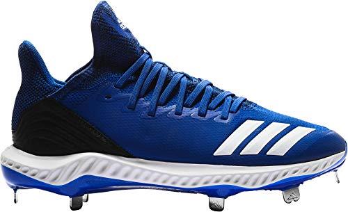 adidas Mens Icon Bounce Hybrid Metal Baseball Cleats (Collegiate Royal/White, 11.5 D(M) US)