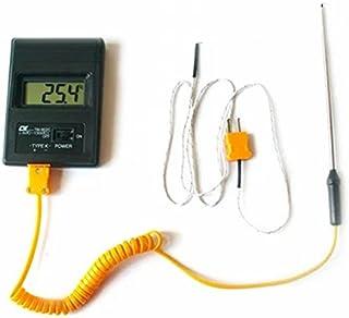 【seriction】 携帯 持ち運びに 便利 コンパクト デジタル 温度計 小型 K型 【日本語使用説明書付き】小型 測定 熱 高温 高性能 高耐熱 -50℃~450℃ 棒タイプ & ケーブルタイプ キッチン 作業