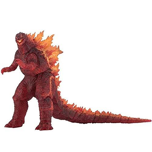 Meilai Fuego ardiente Godzilla Monster PVC Figura de acción de colección Modelo muñecas Juguetes decoración decoración Dibujos Animados Anime Juguete Coleccionable Regalo 18CM