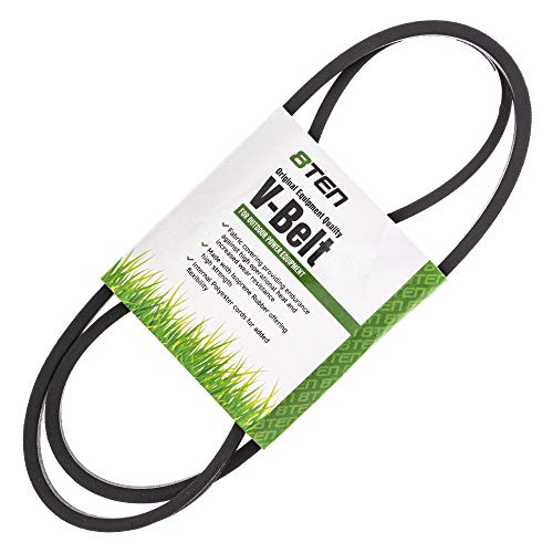 8TEN Deck Belt for Troy Bilt 33 inch Wide-Cut Walk Behind Mower 34071 34073 34075 34087C 34089C 34343 1769767