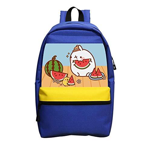 School Backpacks Cute Mo-Lang Blue Children Shoulder Bags